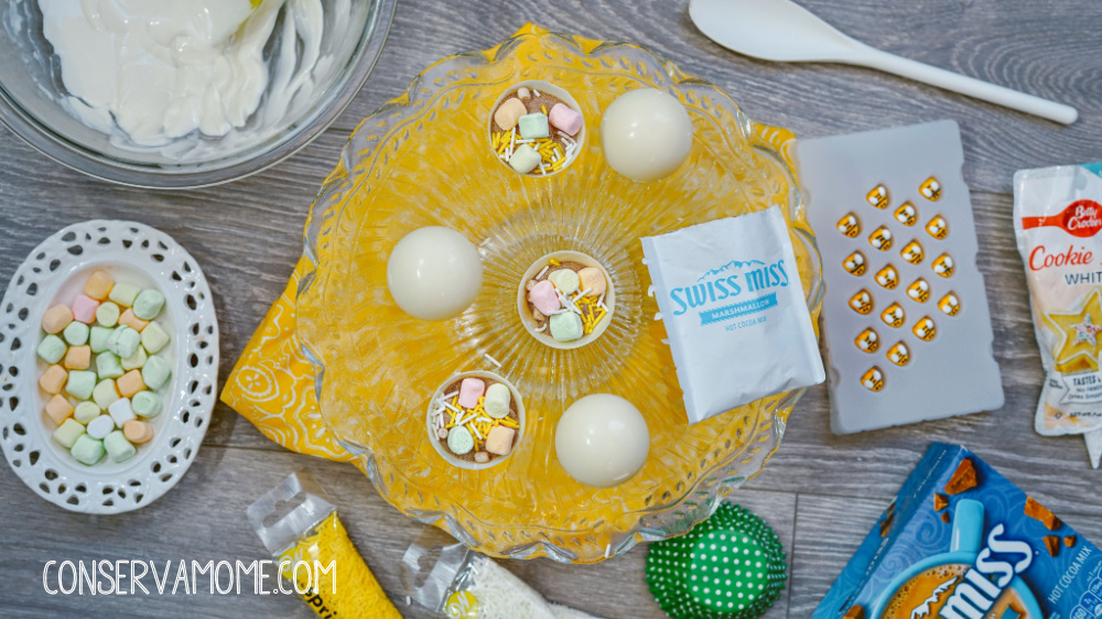Bumblebee Spring Hot Chocolate Bomb Recipe