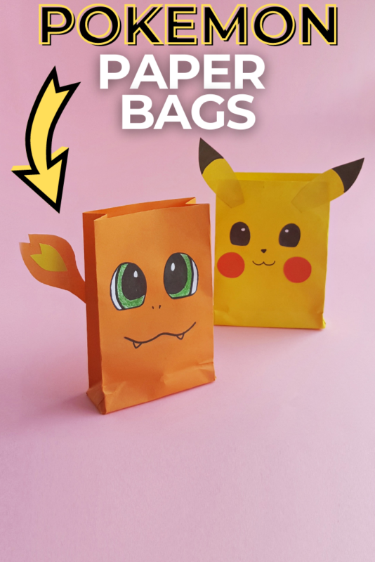 Pokemon Paper Bags