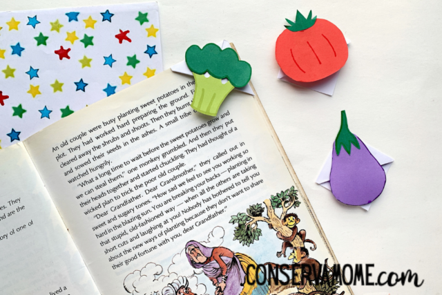 Vegetable Bookmarks