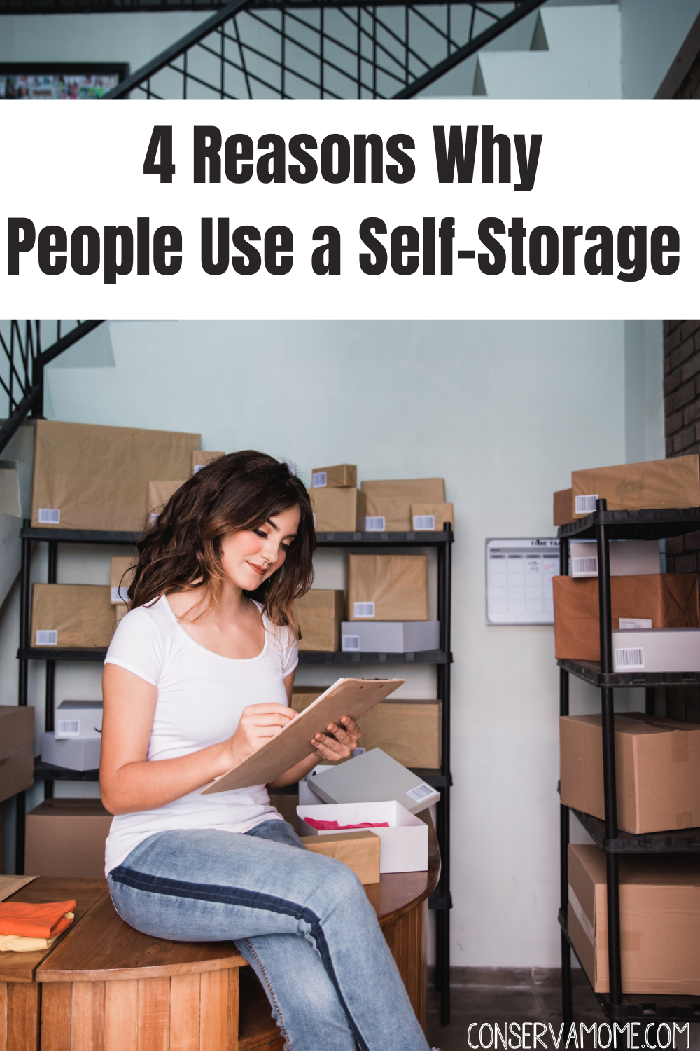 4 Reasons Why People Use a Self-Storage Unit