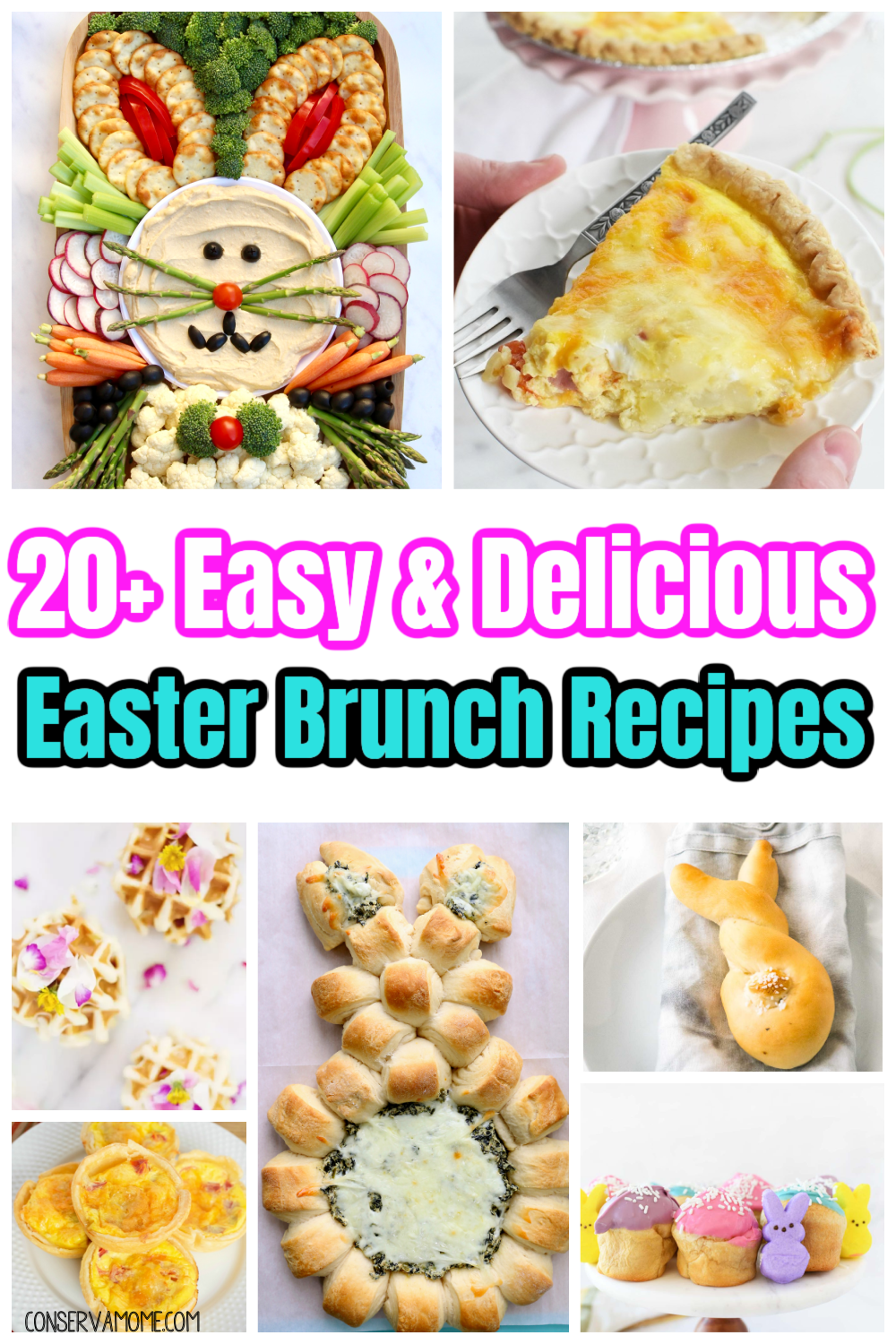 20 Easy & Delicious Easter Brunch Recipes