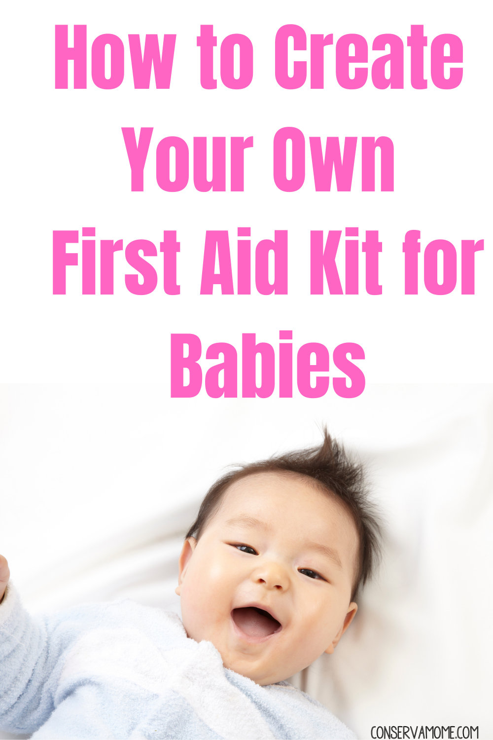 How to Create Your own First Aid Kit for babies