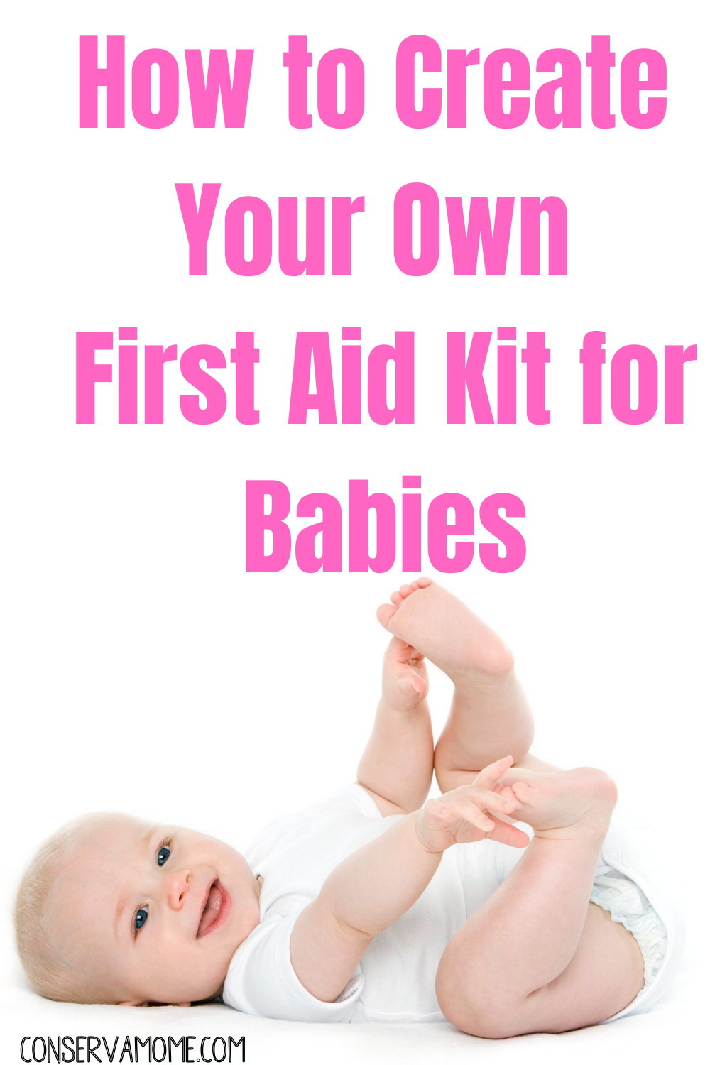 How to create your own first aid kit for babies.