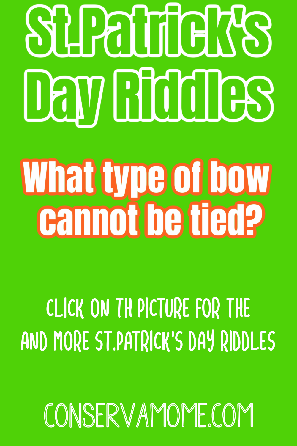 St.Patrick's Day Riddle