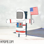 Astronaut Toilet paper roll craft