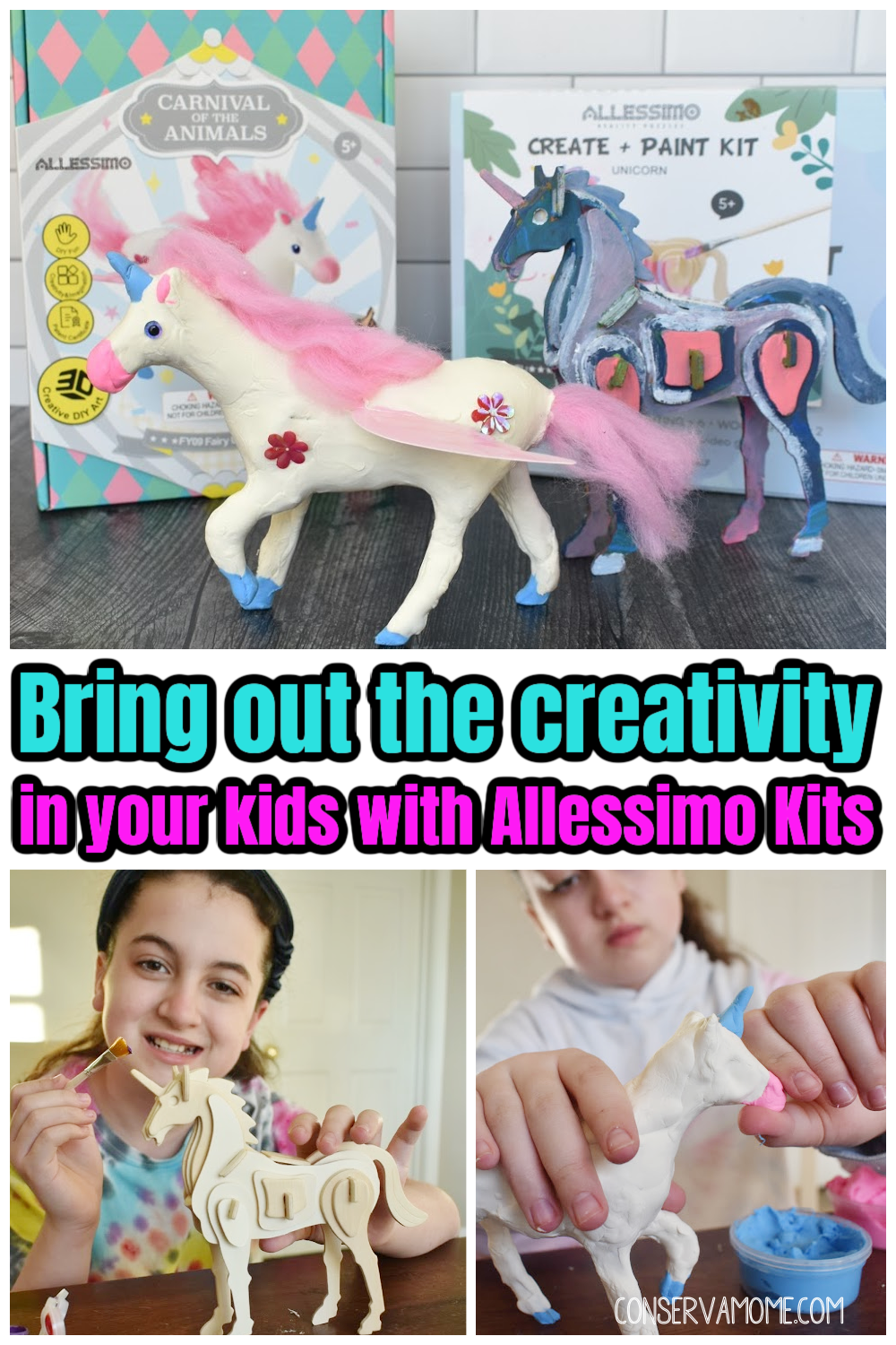 Bring out the Creativity in your kids with Allessimo kits