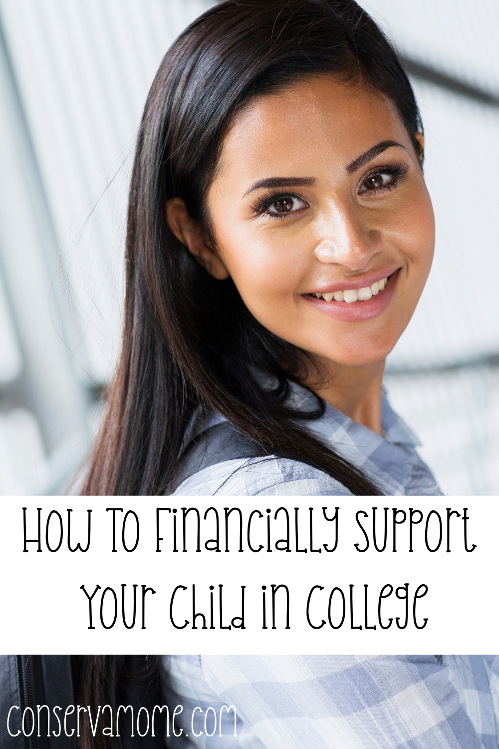 How to financially support your child in college