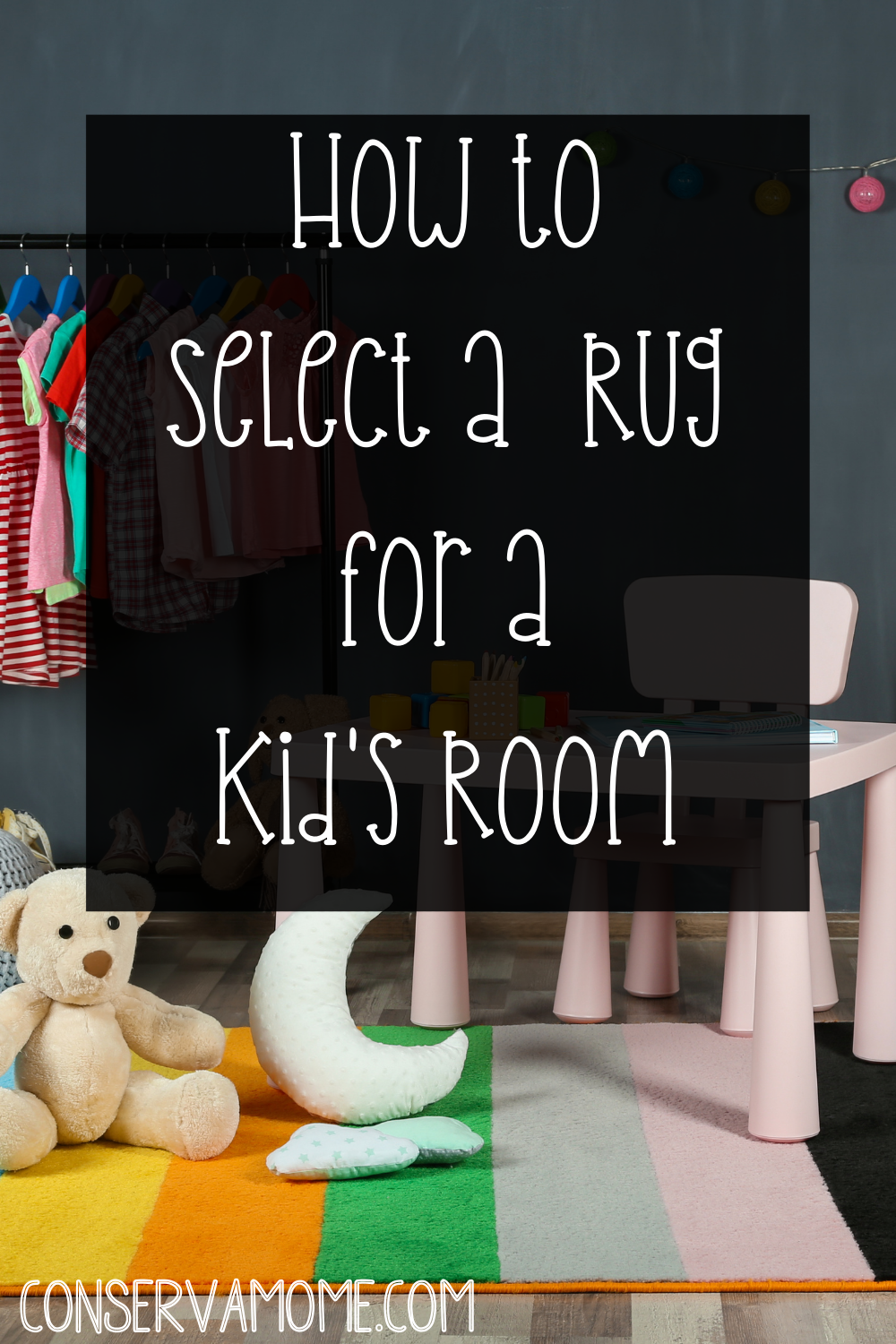 How to select a rug for a kids room