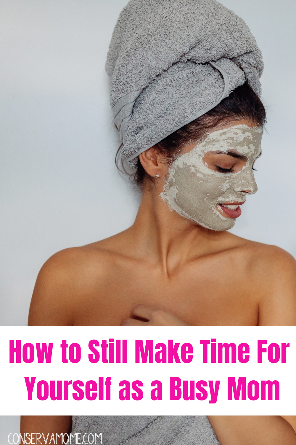 how to still make time for yourself as a busy mom.