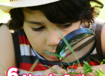 6 Ideas for Getting Your Kids into Nature.