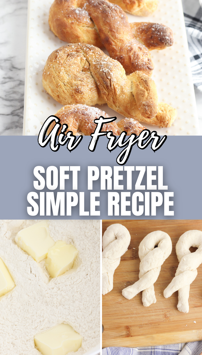 Air Fryer Soft Pretzel Simple recipe