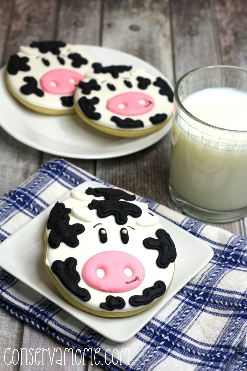 How to make a cow cookies