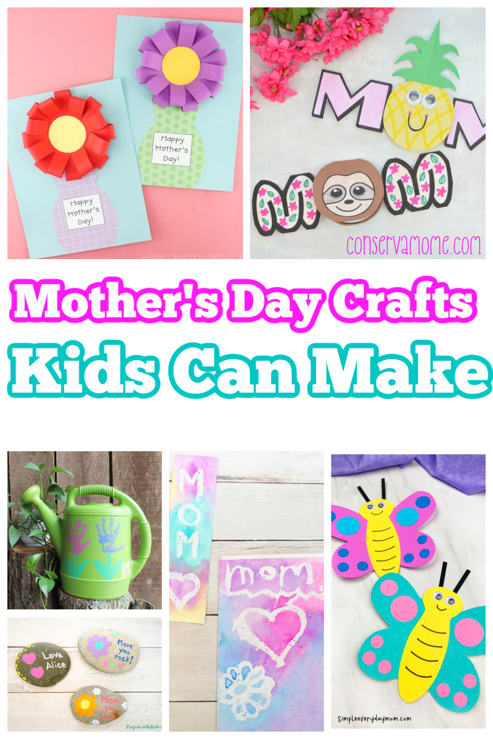 Mother's Day Crafts Kids can make