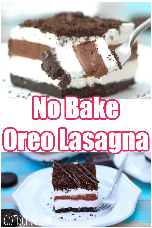 No Bake Oreo Lasagna