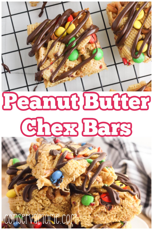 Peanut Butter Chex Bars: An easy No bake dessert Recipe