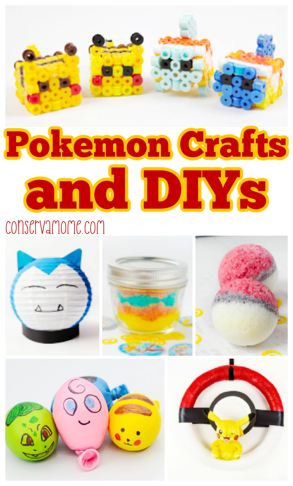 Pokemon crafts and diys
