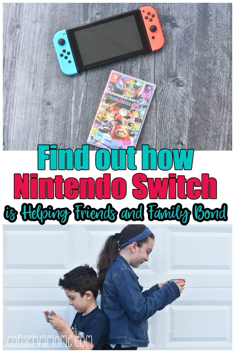 Find out how Nintendo Switch is Helping Friends and family Bond