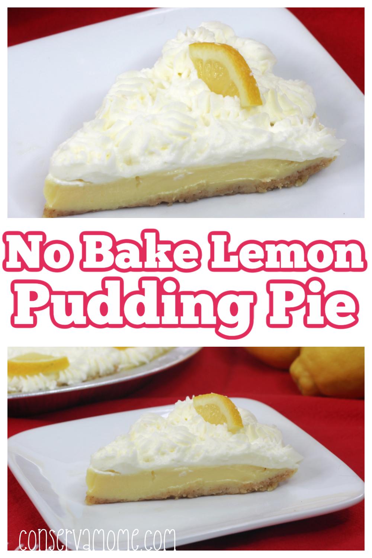 No Bake Lemon Pudding PieRecipe