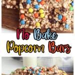 Simple & Delicious No-Bake Popcorn Bars