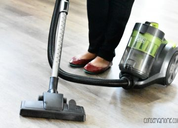 Black + Decker Corded Canister Vacuum
