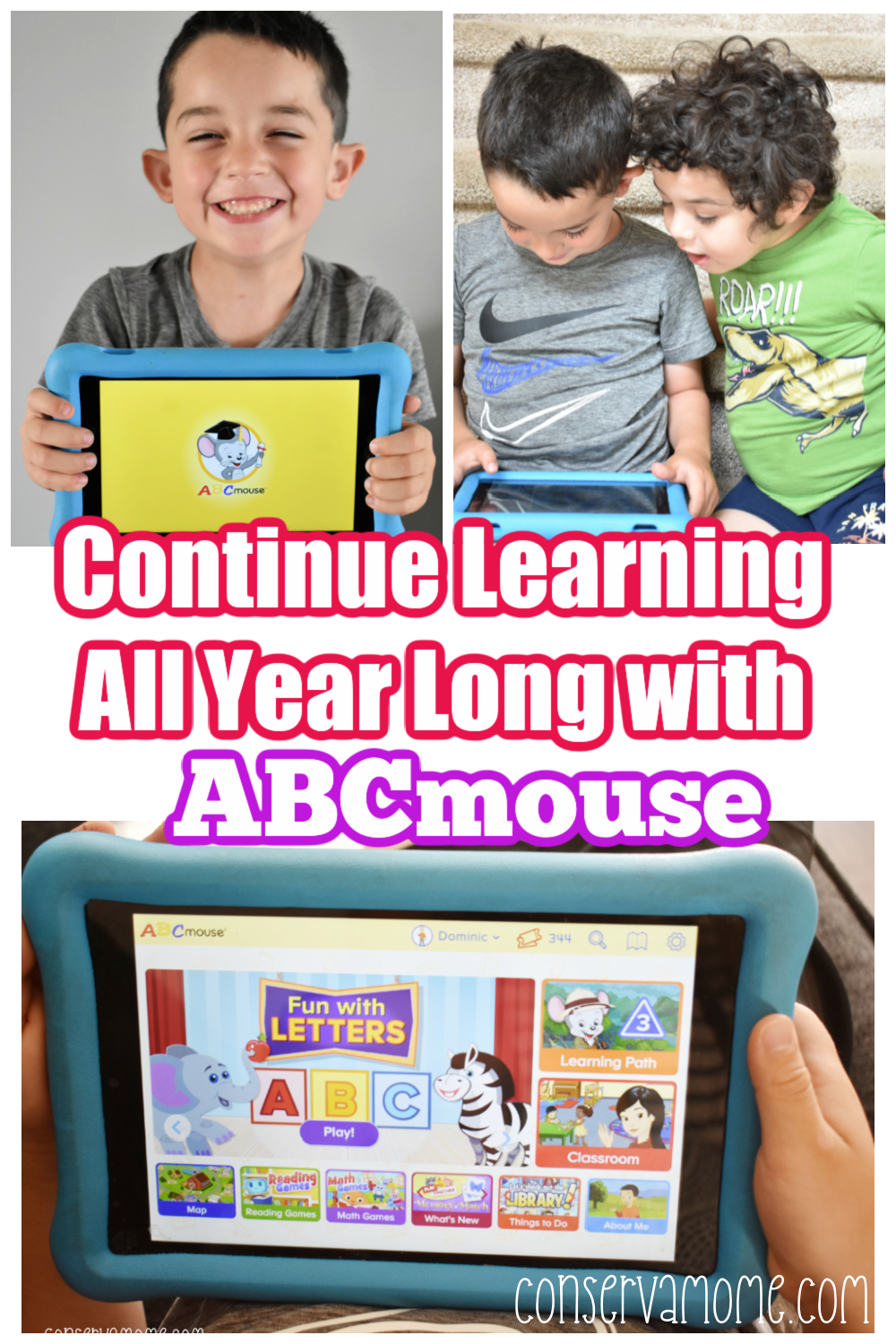 Continue Learning all year long with ABCMouse