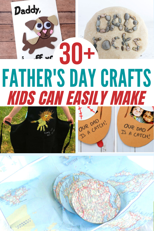 30+ Father's Day Crafts Kids Can Easily Make