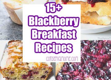 15+ Blackberry Breakfast recipes
