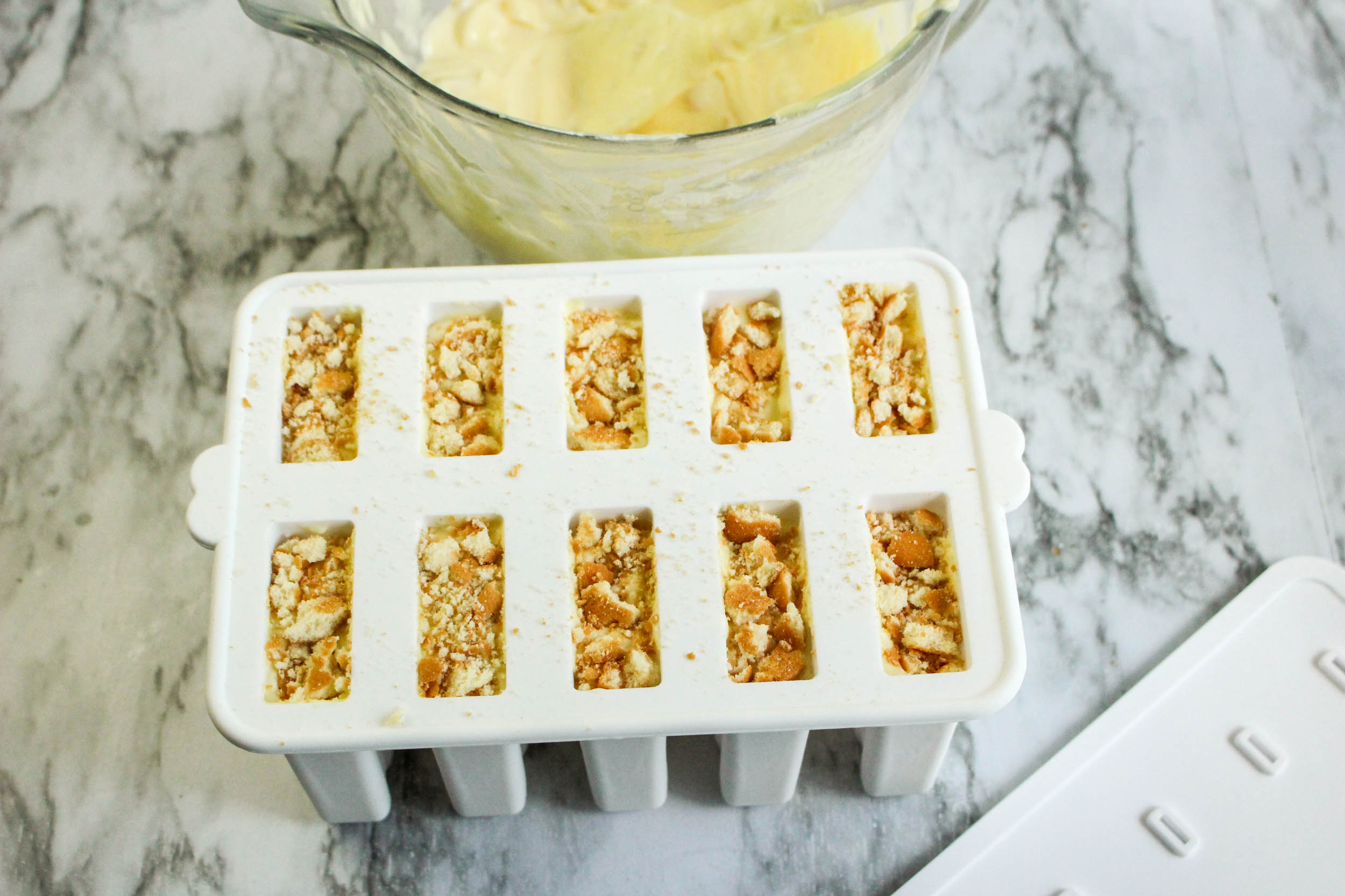 Banana Pudding Popsicles:The Perfect homemade popsicle recipe