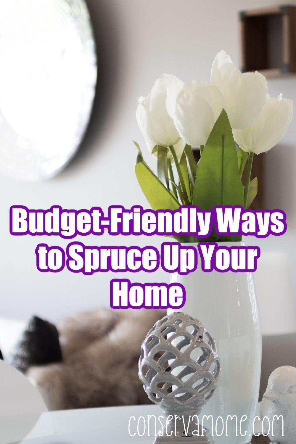 Budget friendly ways to spruce up your home
