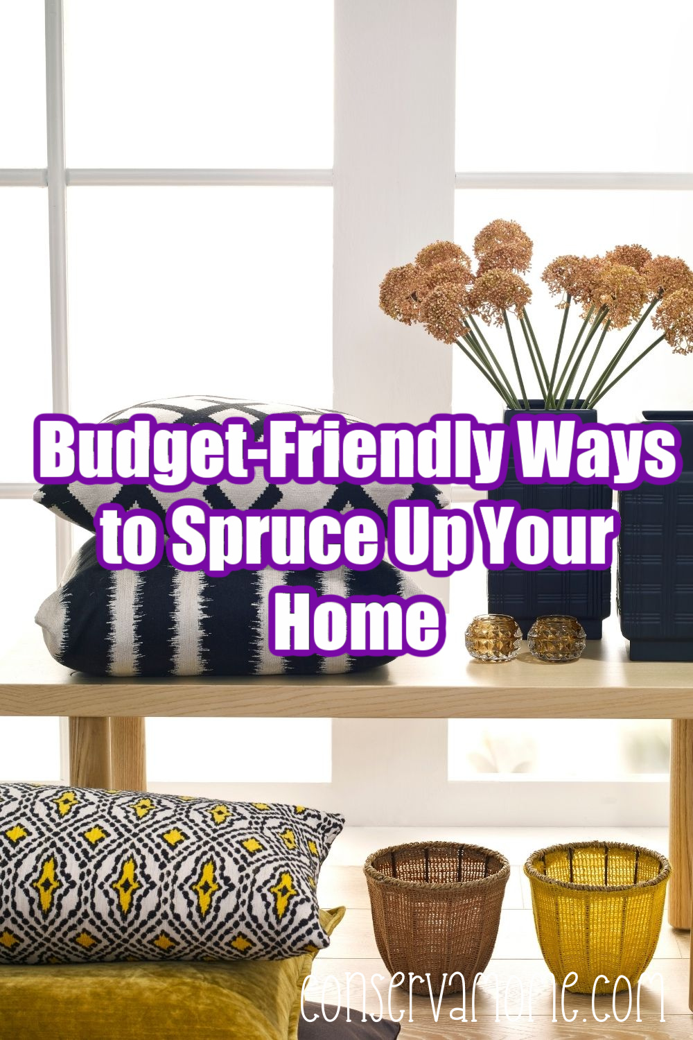 Budget-Friendly Ways to Spruce Up Your Home