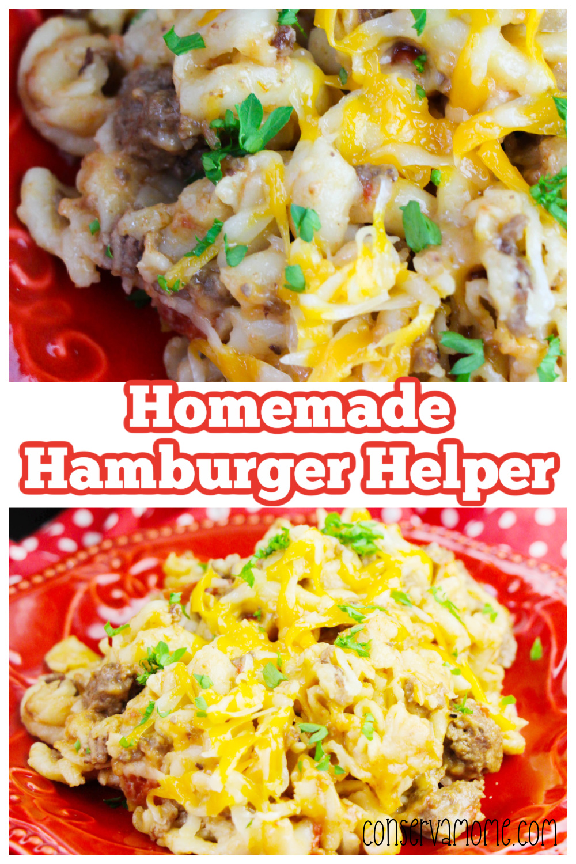 Homemade Hamburger Helper Recipe made in the crockpot!