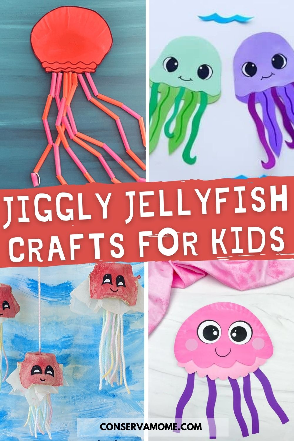 Fun & Unique Jellyfish Crafts for kids that they will love