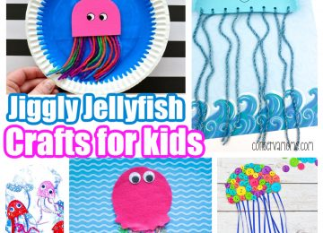 Jiggly Jellyfish crafts for kids