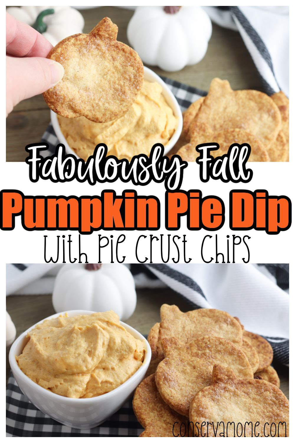 Fabulously Fall Pumpkin Pie Dip With Pie Crust Chips