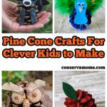 Pine Cone Crafts For Clever Kids to Make