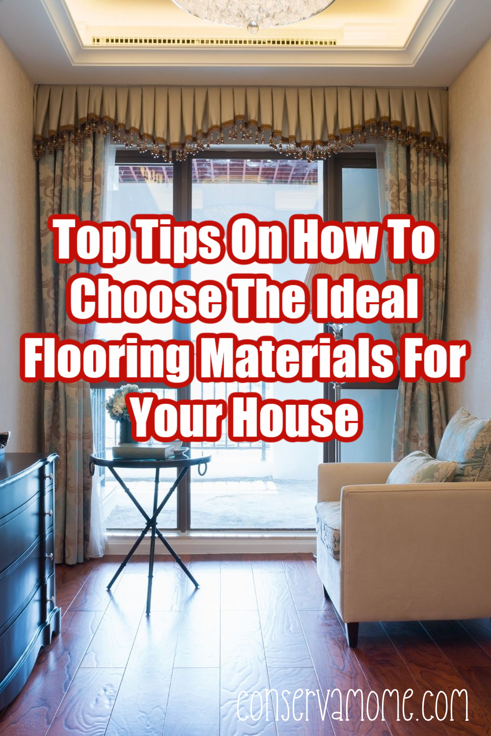 Top Tips on how to choose the ideal flooring materials for your house.