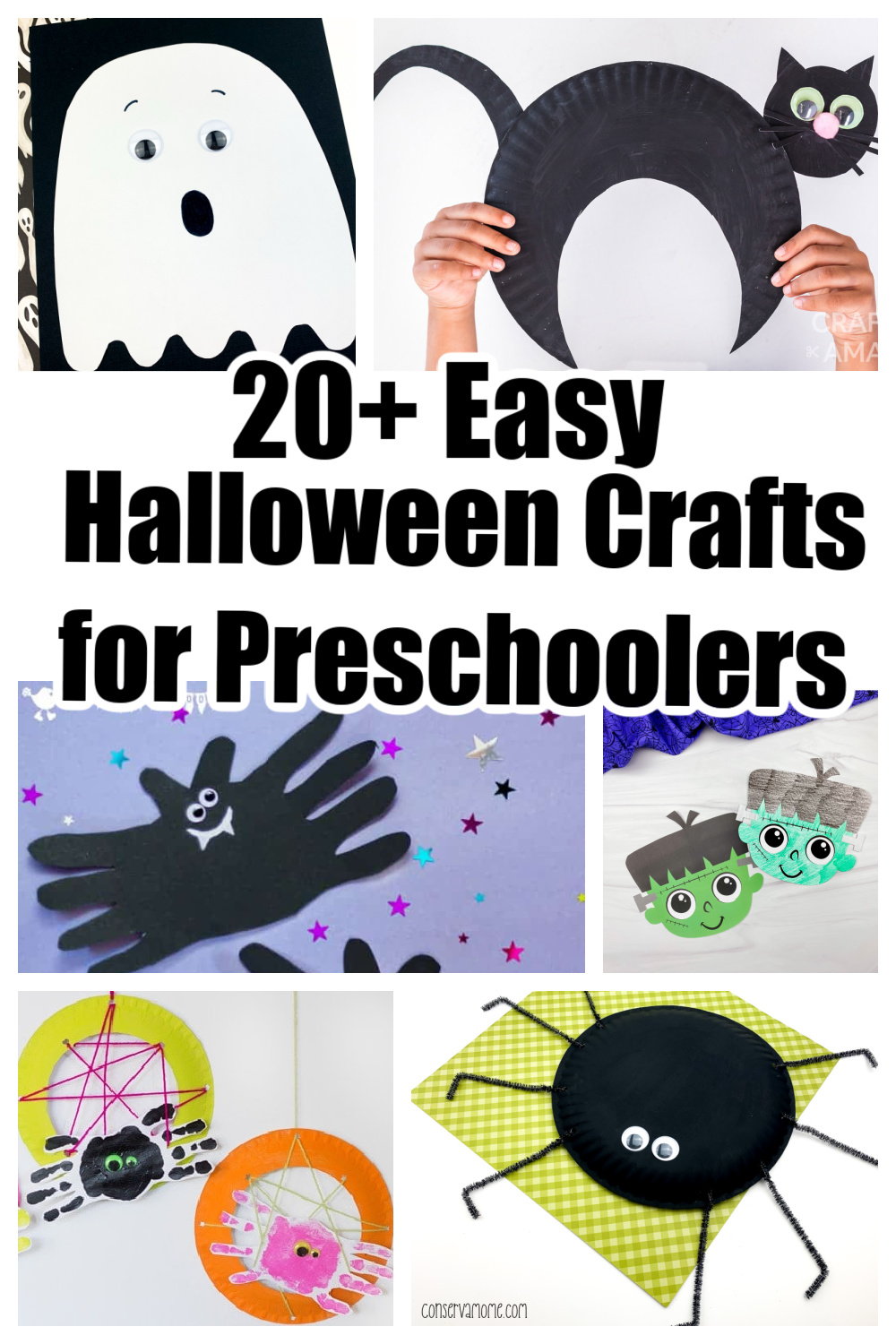 20+ Funtastic and Easy Halloween Crafts for Preschoolers