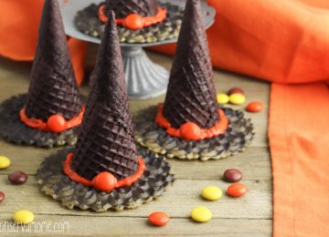 Witches Hat Treats Filled with candy