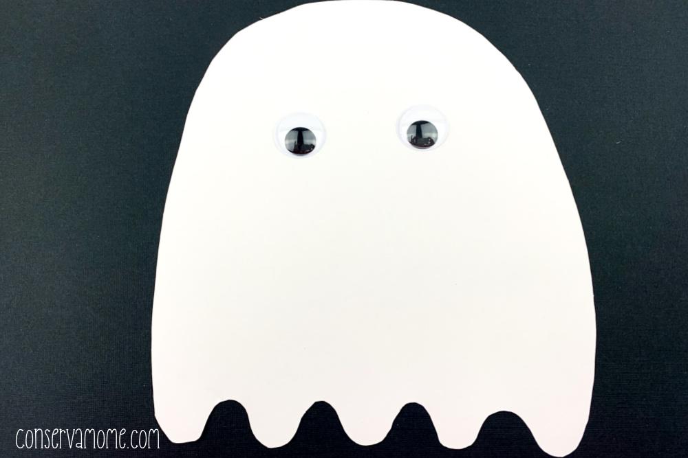 Ghost Preschool Craft