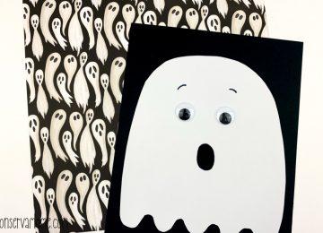 Non Spooky Ghost Craft For Preschool