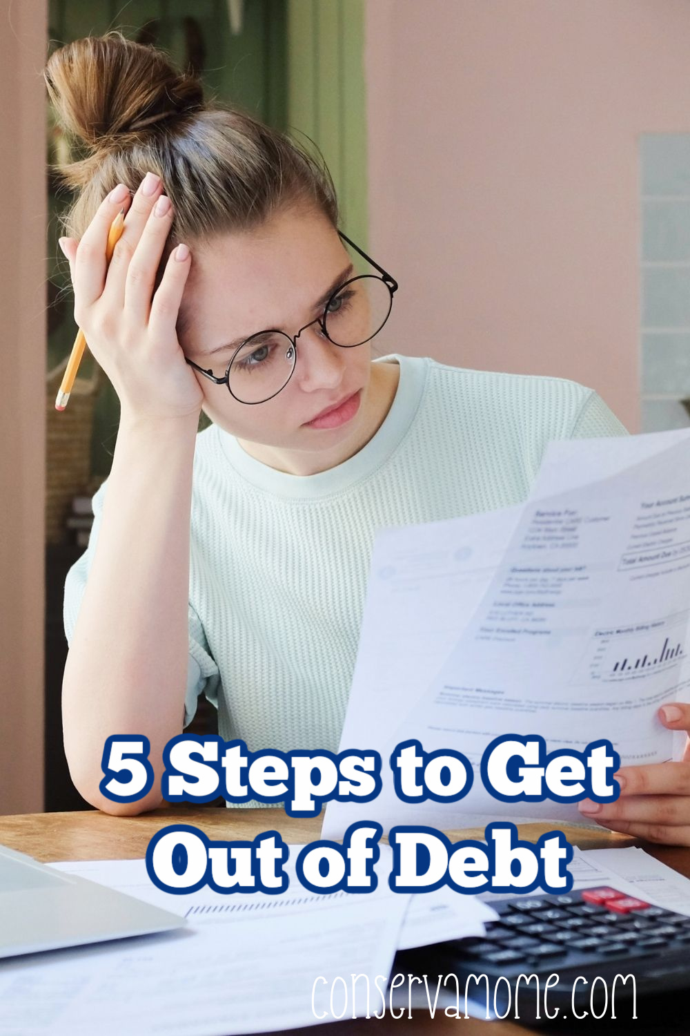 5 Steps to Get Out of Debt